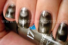 17 magnetized nail polish