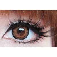 geo starmish brown Circle Lenses Colored Contacts Cosmetic Color Circle Lens | EyeCandy's