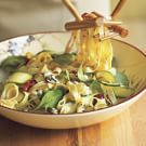 Try the Spring Vegetable Pasta Recipe on williams-sonoma.com/