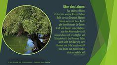 Gedicht Poesie Grusskarte Kunstgedichte   Ufer des