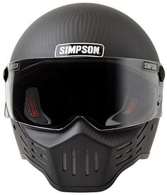 Simpson Helmets for Auto Racing Motorsport Drag racing Karting and Motorcycle helmets Carbon Fiber Motorcycle Helmet, Badass Motorcycle Helmets, Carbon Fiber Helmets, Cool Motorcycles, Bike Helmets, Motorcycle Paint, Women Motorcycle, Vintage Motorcycles, Dot Approved Helmets