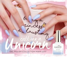 Call me a unicorn Gel Polish by Natalia Siwiec | Indigo Nails