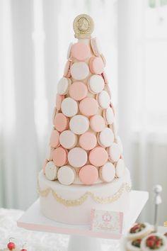 piece montee macarons pour un mariage paris