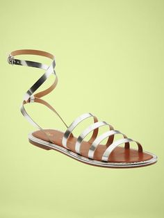Mirror strap sandal Sold Out thestylecure.com