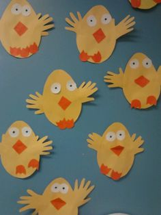 Easter Crafts for toddlers K Crafts, Baby Crafts, Cute Crafts, Toddler Crafts, Preschool Crafts, Holiday Crafts For Kids, Crafts For Boys, Easter Crafts For Kids, Holiday Fun