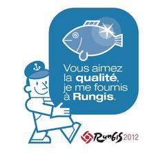 The Rungis Sticker is a sign of your status as a buyer in Rungis. It helps in spreading positive values about Rungis to your customers. North Face Logo, The North Face, Macarons, Logos, Seafood, Logo, Macaroons