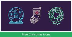 25 High Quality Free Christmas Icons