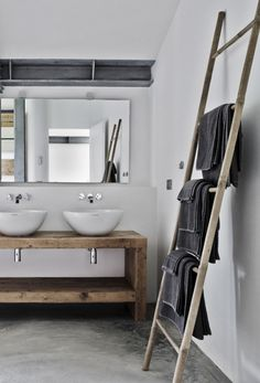 A bathroom made for two #interiordesign