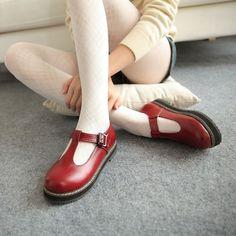 Heels: approx 3 cm Platform: approx - cm Color: black, red, brown Size: us 3, 4…