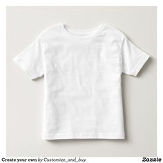Shop Zazzle's cute selection of Dandi toddler clothes. Spoil your little tot with thousands of adorable styles to choose from! Toddler Jerseys, Shirt Template, Cute Toddlers, T Shirt Diy, Toddler Outfits, Custom Clothes, Stylish Outfits, Create Your Own, T Shirts For Women