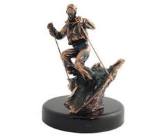 StealStreet Medium Copper Male Skier Figurine Statue 9 >>> To view further for this item, visit the image link. (This is an affiliate link and I receive a commission for the sales) Natural Home Decor, Collectible Figurines, Copper Color, Statue, Medium, Gifts, Fathers, Collection, Ss
