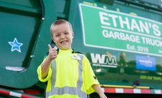 This Boy With Cystic Fibrosis Got His Wish: Becoming a Garbage Man for a Day