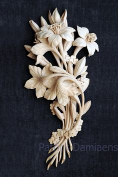 grinling gibbons wood carving/images | ... WOODCARVING | GRINLING GIBBONS style of carving | Foliage Carving