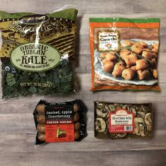 Six more quick and easy meals made from the amazing products at your local Trader Joe's! Less than 7 ingredients and less than 30 minutes, Trader Joe's makes weeknight dinners easy! Trader Joes Food, Trader Joe's, Trader Joe Meals, Trader Joes Healthy Snacks, Healthy Meals, Healthy Recipes, Trader Joes Vegan, Healthy Eating, Fall Recipes