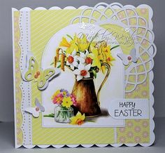 HAPPY EASTER to all on Docrafts..... by: Crazy4flowers