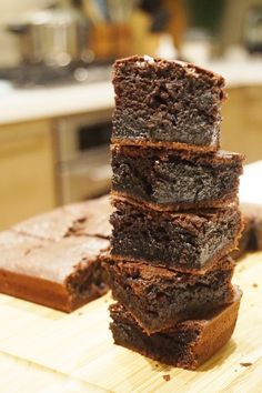 Here's for you the deliciously awesome Easy And Delicious Chocolate Mochi Brownies. So just go and grab this recipe now!