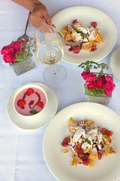 Kulinarik im in im Panna Cotta, Ethnic Recipes, Food, Meal, Essen