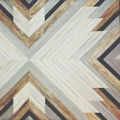 pattern. No blatant chevrons, but still a geometric vibe while still being a little rustic.