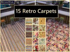 abormotova's Retro Carpet Set of 15