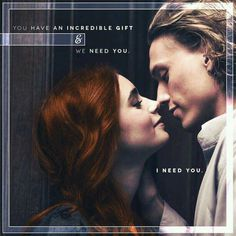 They are so in love, its not fair....i want a jace :( Clary Fray and Jace Wayland ♥ Lily Collins and Jamie Campbell Bower - City Of Bones 2013