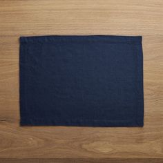 Free Shipping.  Shop Helena Indigo Blue Linen Placemat.  Made of 100% linen, this indigo blue placemat is pre-washed for a soft feel.
