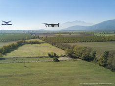 Drone Dji Mavic Pro volando sobre campos. Comparto con ustedes una buenísima foto que hicimos de #drone volando sobre campos en zona central de Chile