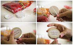 Do It Yourself - DIY - Latinhas personalizadas - lembrancinha - Latas de mint to be- Tuty - Arte & Mimos www.tuty.com.br