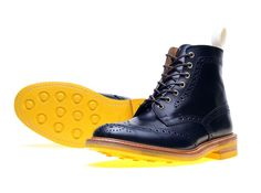 Tricker's for End Hunting Co. Color Card Stow Brogue Boots