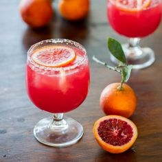 Blood Orange Margarita with Bitters