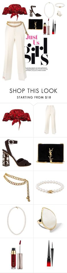 """""""Untitled #117"""" by xoutfiter ❤ liked on Polyvore featuring Johanna Ortiz, Gucci, Dolce&Gabbana, Yves Saint Laurent, Chanel, Tiffany & Co., Ippolita, Urban Decay and Christian Louboutin"""