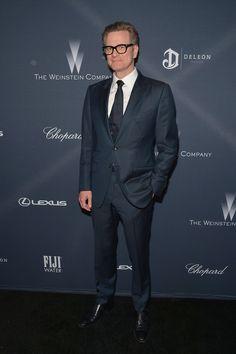 Colin Firth Photos - FIJI Water at the Weinstein Company's Pre-Oscar Dinner - Zimbio