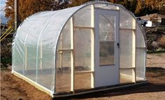 This lesson will teach you how to build your own 10 x 12 backyard hoop house. Harvest year round and enjoy benefits of self reliant living. Simple Greenhouse, Greenhouse Plans, Greenhouse Pictures, Farm Layout, Farm Gardens, Garden Structures, Garden Spaces, Hydroponics, Aquaponics System
