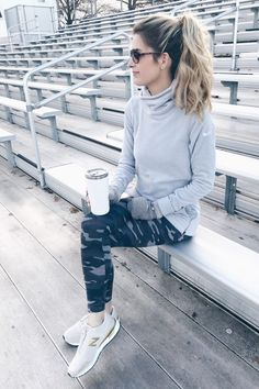 affordable winter workout outfit