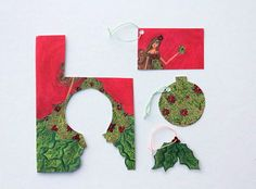 recycling old christmas cards! tags, ornaments, and other neat bits! Christmas Card Crafts, Old Christmas, Christmas Cards To Make, Christmas Projects, Holiday Crafts, Christmas Holidays, Christmas Ideas, Holiday Ideas, Christmas Ornaments