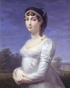 Princess Augusta Amalia Ludovika Georgia of Bavaria was the wife of Eugene de Beauharnais, son of Josephine by her first husband, stepson of Napoleon, mother of Josefina, the future Queen of Sweden