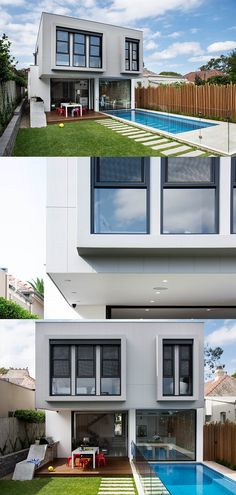 Adding a modern extension to your home is a fantastic way to add extra space, extra value and an extra wow factor. Here's 5 ways to balance old and new when creating a modern extension. Beautiful Home Designs, Home Remodeling Diy, Australian Homes, Wall Cladding, Living Styles, House Extensions, Modern House Design, House Rooms, 5 Ways
