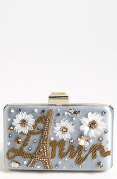 Do you ever get that feeling you are going to die if you don't get something? Well this is it!!  Lanvin 'Paris' Minaudiere Box Clutch | Nordstrom
