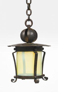 Gustav Stickley Lantern, 1905                                                                                                                                                                                 More