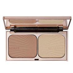 Charlotte Tilbury contour palette for light to medium skin tones Charlotte Tilbury, Urban Decay, Kylie Jenner, Cheek Makeup, Face Makeup, Eyebrow Makeup, Gold Palette, Makeup Must Haves, Contour Palette