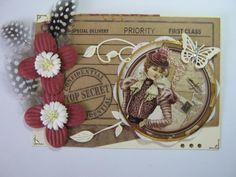 Card making from Linda Trott on Facebook