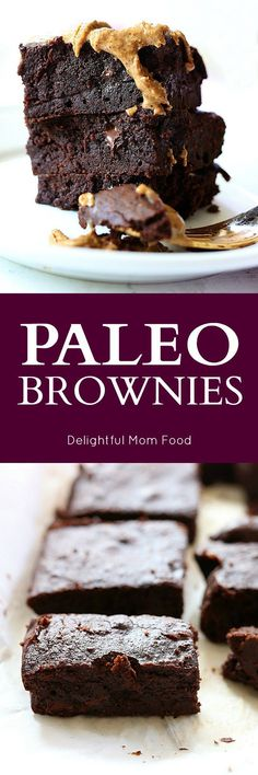 Feel clean and lean with these ultra fudgy paleo brownies iced in melting almond butter! Head back to our ancestors with grain-free food. Grain-free dairy free is sure makes delicious dessert sweets!