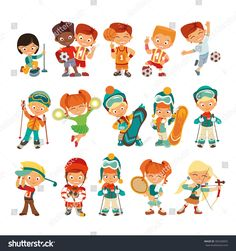 Image result for kids sports icon