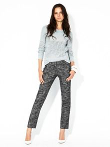 Frayne Tapered Tweed Pant by Theory