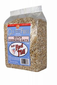 Bob's Red Mill Gluten Free Quick Cooking Oats, 32-Ounce Bags (Pack of 4) $26.95
