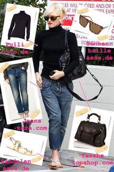 gwen stefani style   PromiFashion: Gwen Stefani im coolen Street-Style   Promiflash.de