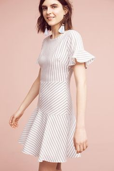 Slide View: 2: Gretchen Striped  Dress