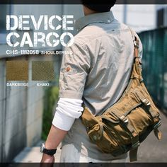 DEVICE Cargo CHS-1112058 SHOULDERBAG