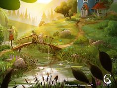 - All-star cast for new Moomin animation series, MOOMINVALLEY colorscript Fantasy Places, Fantasy Art, Moomin Valley, Color Script, Tove Jansson, Rosamund Pike, Cartoon Shows, Kate Winslet, Art Background