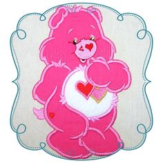 Care bears Applique Machine Embroidery Design Pattern-INSTANT DOWNLOAD