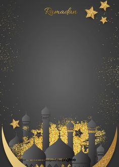 Studio Background Images, Blue Background Images, Background Patterns, Gold Background, Islamic Wallpaper Hd, Wallpaper Wa, Ramadan Wallpaper Hd, Moon Texture, Golden Texture